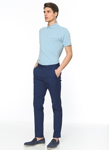 George Hogg Polo Yaka Tişört Mavi